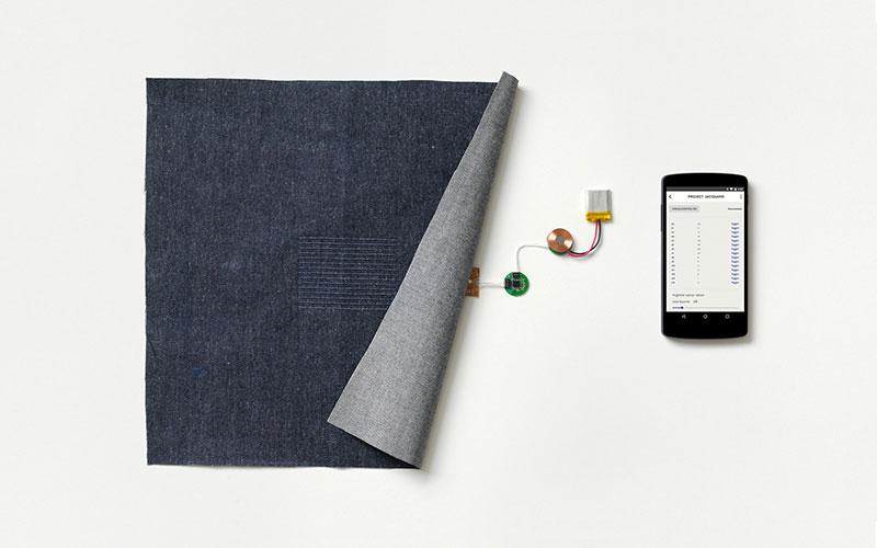 Google Project Jacquard Verbindung mit dem Smartphone
