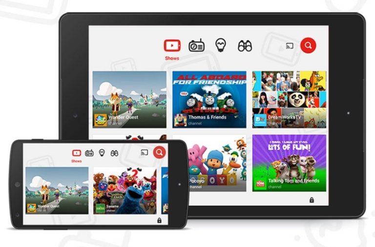 YouTube Kids – der kontrollierte Fernsehersatz, jetzt verfügbar
