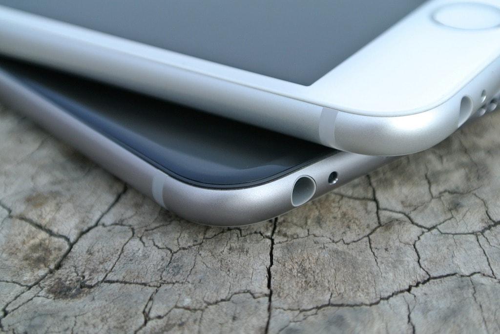 iPhone 6 zwei uebereinander CC0