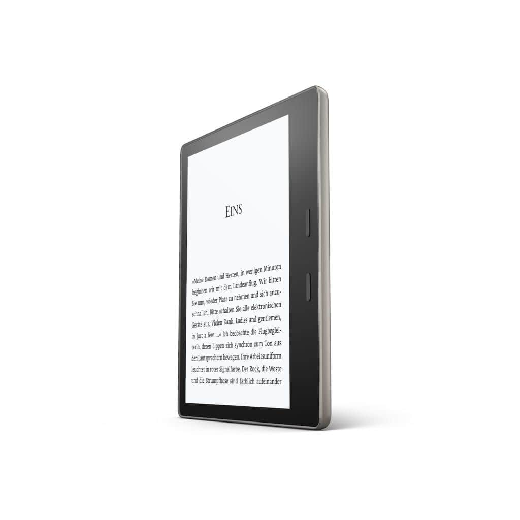 Amazon Kindle Oasis vorne links