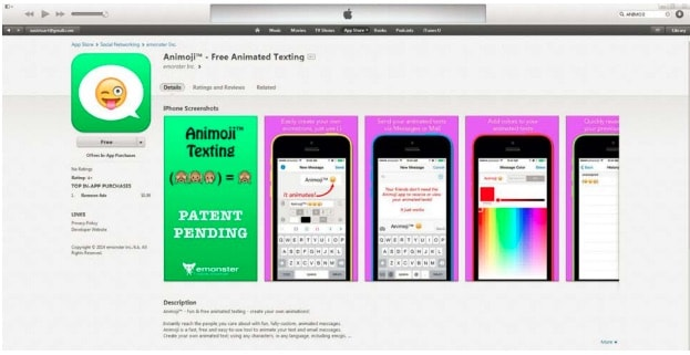 Animoji App screenshot