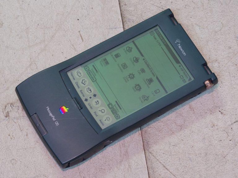 Die Apple Newton MessagePads – die iPhones der Neunziger