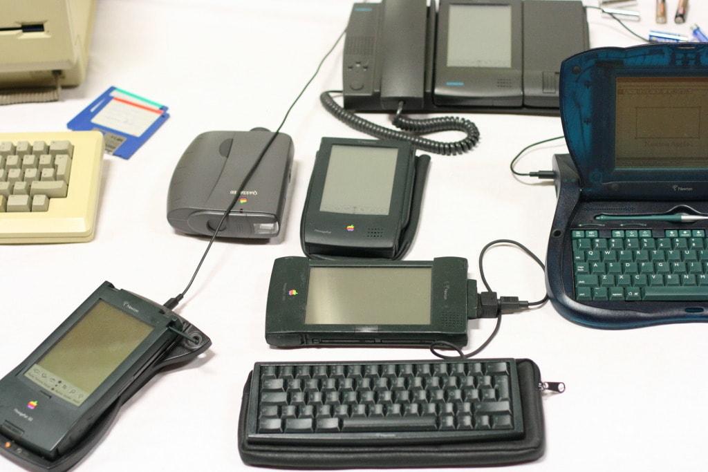 Apple Newton Produkte Uebersicht