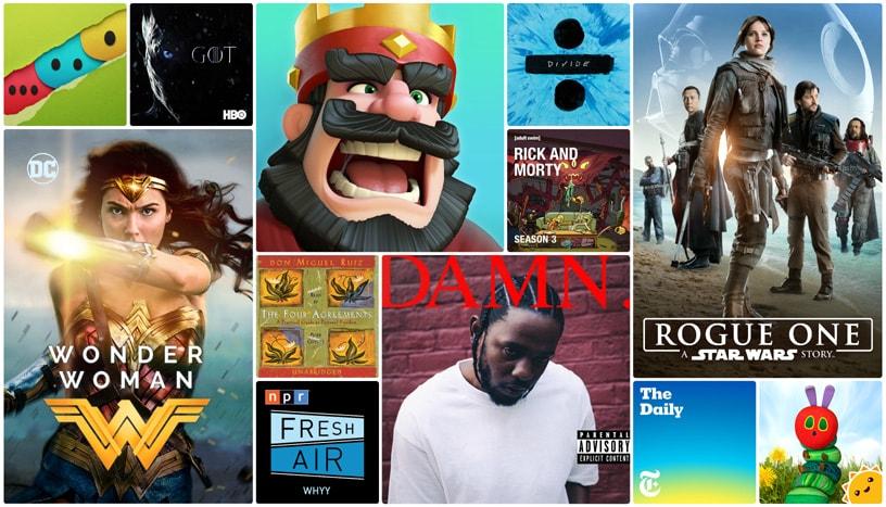 Das Beste was iTunes 2017 zu bieten hatte, gekürt von Apple