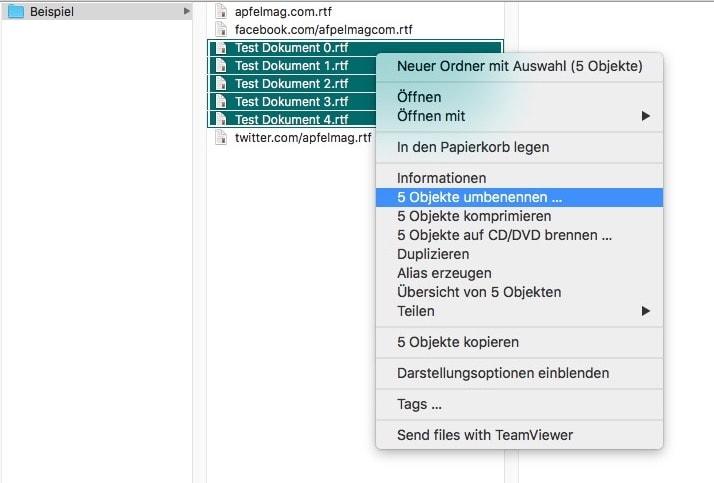 Am Mac Dateien umbenennen wie ein Weltmeister – so geht's