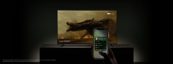 Apple und Samsung Smart TV Game of Thrones